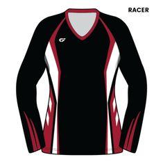 Custom Fuze Women's Sublimated Pro Series (Standard Ship) Long Sleeve Jersey Volleyball Uniforms, Women Volleyball, Pink Instagram, Uniform Design, Wetsuit, Dads, Sweatshirts, Long Sleeve, Pilot
