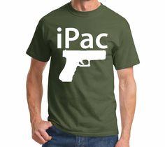 iPac Pistol Funny Gun Rights Shirt