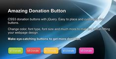 DonateNic - Amazing Donation Button