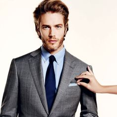 10 costumes de printemps Gq, Mode Masculine, Suit And Tie, Model Agency, Gossip Girl, Male Models, Top Models, Mens Fashion, Fashion Suits