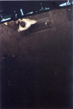Saul Leiter Looking Down 1953. Has to be a favourite. #photography
