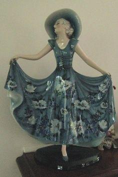 Goldscheider Art Deco figure… - Two Day Autumn Special Antique Auction - E. J. Ainger Pty. Ltd. - Antiques Reporter