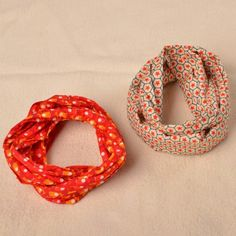 cirkelsjaals voor Line en Lenn