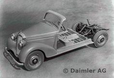 MB Typ 170 S-V / 170 S-D Fahrgestell für Sonderaufbauten