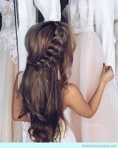 Wedding Updo Hairstyle for Long Hair! Lovely? it is! Check now!