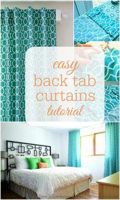 Easy Back Tab Curtains