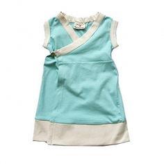 Cute Blue Girl's Dress