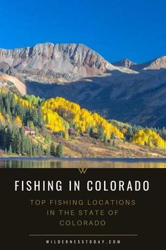 Come check out our 10 favorite places to fish in the great state of Colorado! Come check out our 10 favorite places to fish in the great state of Colorado! Fly Fishing For Beginners, Fly Fishing Tips, Deep Sea Fishing, Going Fishing, Best Fishing, Fishing Lures, Fishing Boats, Fishing Tricks, Carp Fishing