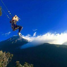 Casa del Arbol #traveladdict #traveleres #allyouneedisnature #nature #sudamerica #baños #Ecuador #viajeros #aventureros #mochileros