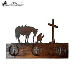 Cowboy Prayers Coat Rack