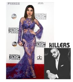 """""""AMA Awards Last Night💕✨Don't Save"""" by kieraroyalsimmons ❤ liked on Polyvore featuring Marina J. and Lime Crime"""
