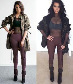 """Já imaginoucomo seria ter a vida da Kim Kardashian? Pegando carona no lançamento de Selfish, o livro de selfies da star, Sally Holmes, editora-sênior da Elle americana, resolveu colocar essa ideia em prática e viveu como a celeb durante uma semana! E olha, não foi só """"copie o look"""" não, o processo de se """"Kardashify"""" …"""