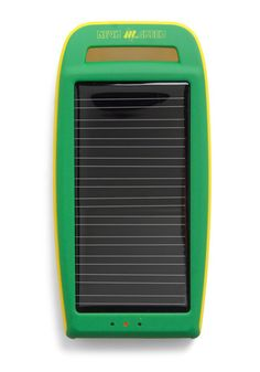 Solar power travel charger.
