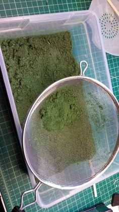Scotty's Workshop: Inexpensive and easy homemade flock!