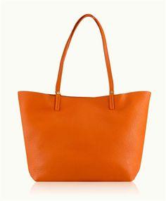 Perfectly pairs with ToteSavvy to create a chic diaper bag. Orange Tori Tote, Pebble Grain