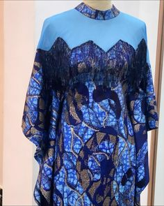 African Prom Dresses, Latest African Fashion Dresses, Blue Dresses For Women, Modest Fashion, Fashion Outfits, Ankara Long Gown Styles, African Blouses, African Inspired Fashion, Kaftans