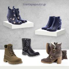 Γυναικεία δερμάτινα μποτάκια Biker, Boots, Fashion, Crotch Boots, Moda, La Mode, Heeled Boots, Shoe Boot, Fasion