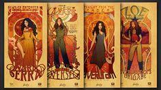 Thumbnail of Firefly Les Femmes Poster Set