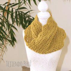 Crochet moebius!  Video del paso a paso para tejer la técnica básica e incluye instrucciones para hacer un lindo cuello o bufanda corta infinita y una vincha o diadema!