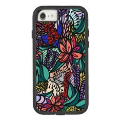 2691e8729c6a ivy busterカラフル南国アイフォンケースiPhone case $34.95 by ivybuster216 - cyo diy  customize personalize