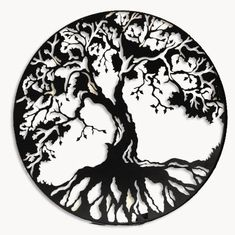 Celtic Tree of Life Wall Sticker Removable Headboard Home Room Vinyl Art Decor Yggdrasil Tattoo, Tattoo Life, Metal Wall Art Decor, Celtic Tree Of Life, Art Sculpture, Desenho Tattoo, Metal Tree, Pyrography, Wall Vinyl
