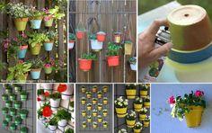 Jardins verticais...Gosto muito!  Veja mais em http://www.comofazer.org