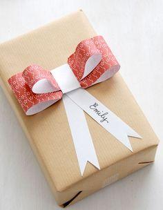 inspiracje w moim mieszkaniu: Pomysł na pakowanie prezentów pod choinkę / The idea for wrapping gifts for Christmas