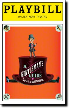 A Gentleman's Guide to Love and Murder opens tonight at the Walter Kerr Theatre
