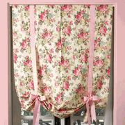 These roman shades give a nice feminine touch, yet look completely modern.