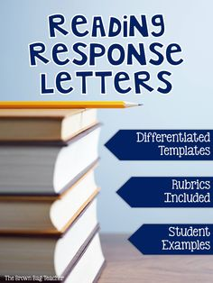 More authentic than traditional book reports, Reading Response Letters are the perfect way to build a relationship with the readers in your class. This resource includes everything you need to get started with response letters - templates, grading rubrics, and students examples!