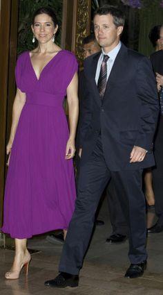 princesse Mary et prince Frederick