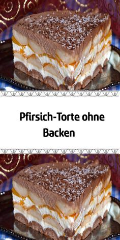 Peach cake without baking- Pfirsich-Torte ohne Backen A delicious cake with peaches and sour cream. Cake Mix Cookie Recipes, Butter Cookies Recipe, Chip Cookie Recipe, Easy Cheesecake Recipes, Cake Mix Cookies, Dessert Recipes, Cream Cookies, Shortbread Cookies, Dessert Blog