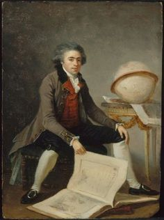 1785 ca.  Portrait of a Man in his Study by  Marguerite Gérard.  mfa.org