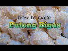 Putong bigas - YouTube Pinoy Dessert, Filipino Desserts, Pinoy Food, Baby Kittens, Beauty Essentials, Evie, Macaroons, Attic, Pastries