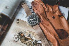 Longines - Chronographe Avigation Big-Eye Tommy Hilfiger, Big Eyes, Cool Watches, Gloves, Leather, Affordable Watches, Luxury Watches, Fancy Watches, Online Shopping