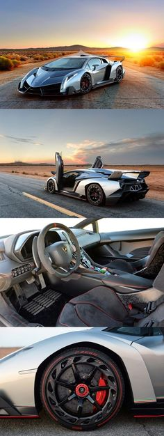 The Incredible $4.5 Million Lamborghini Veneno Roadster