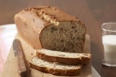 Banana bread is a snack time favourite.  An easy banana bread featuring PHILADELPHIA Cream Cheese and ripe bananas, this recipe is sure to become your go-to recipe.