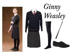 """Ginny Weasley"" by mutt81 ❤ liked on Polyvore featuring Forever New and ALDO"