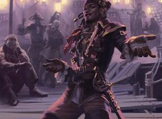 Fantasy Art Men, Fantasy Rpg, Fantasy Beasts, Fantasy Artwork, Skyfall, Medieval, Pirate Art, Mtg Art, Keys Art