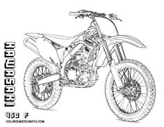 dirty dirt bike coloring for coloring pages kids get yer crayons for top 10 motorbike