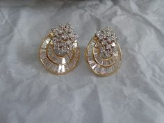 diamond earrings -my design