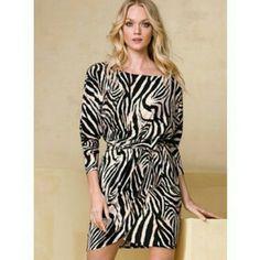 Victorias Secret Dress Dolman Sleeve With Belt