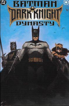 Batman Dark Knight Dynasty # 1 DC Comics Hard Cover Dust Jacket Elseworlds