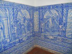Azulejos da Capela dos Ossos em Évora - Capela dos Ossos: Mosaico azulejos all'uscita