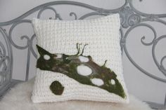 Felted pillowcase
