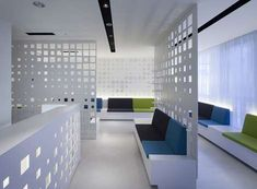 66 Futuristic Office Spaces - From Villainous Subsurface Offices to Playful Cube Offices (TOPLIST)