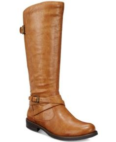 Bare Traps' Corrie wide calf riding boots give you of-the-moment appeal with an equestrian influence. Pull them on over leggings or skinny jeans for a fresh modern look. | Manmade upper; manmade sole