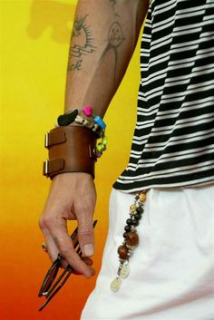 Brave Symbol, Johnny Depp's arm!! I recognize those tattoos anywhere! :)