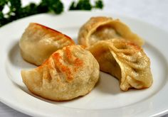 Wouldn't you love to sit back and enjoy these #delicious Fried #Dumplings !