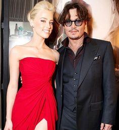 Johnny Depp'in düğün fotoğrafları